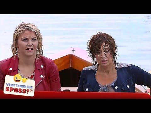 Beatrice Egli und Isabel Varell beim feuchten Dreh | Verstehen Sie Spaß?