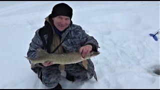 5 дней счастья на весенней рыбалке Часть 3 Щука на жерлицу Пробили дорогу на малую речку