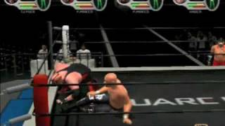 All Star Pro Wrestling III Battle Royal PS2 Part 2