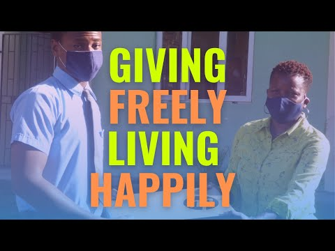 Giving Freely, Living Happily