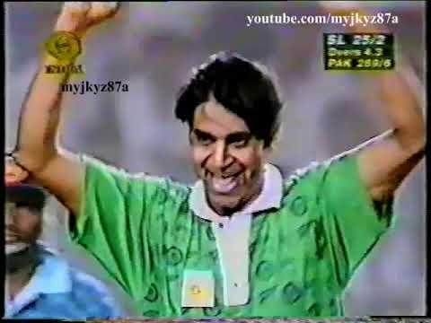 Aqib Javed 5-35 vs Sri lanka at Gwalior 1997