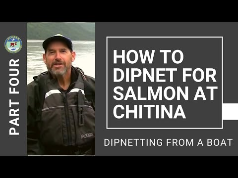 How To Dipnet For Salmon At Chitina: Part 4 - Dipnetting From A Boat
