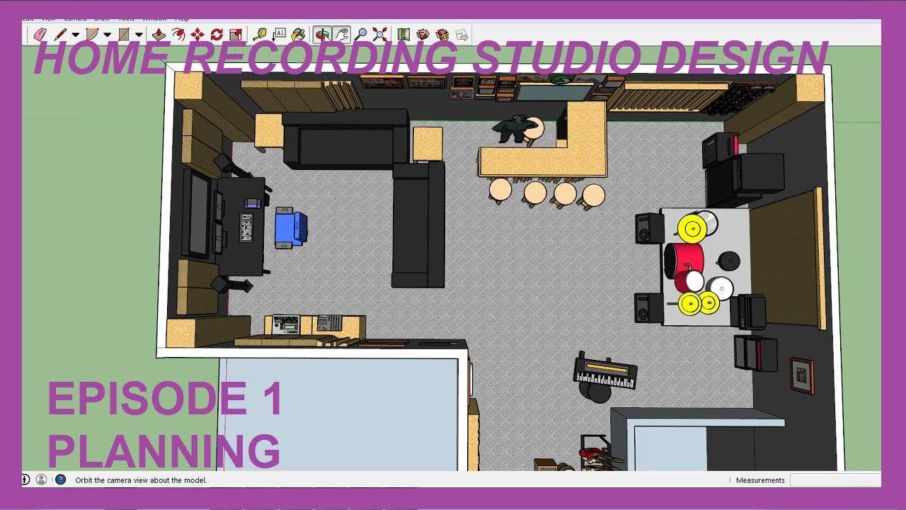 Best Kitchen Gallery: Home Recording Studio Design Episode 01 Planning Youtube of Home Recording Studio Design  on rachelxblog.com