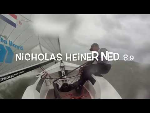 Drama and emotion for Nicholas Heiner in extreme medal race at 2018 Finn Europeans in Cádiz