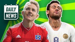 Chaos beim HSV! Neymar vs. Fans! Hazard ist sich mit dem BVB einig! Dardai will nicht nach Köln!