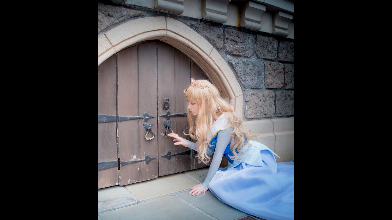 Top5 Cosplay Anime Character Frozen And Sleeping Beauty And