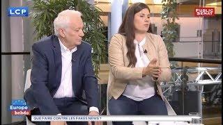 Virginie Roziere s'exprime sur la propagation de « fausses nouvelles »
