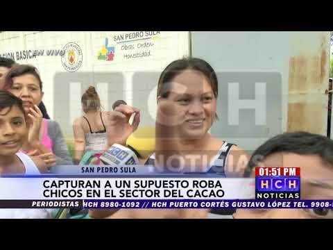 Capturan a supuesto #robachicos en el sector del Cacao en la zona norte