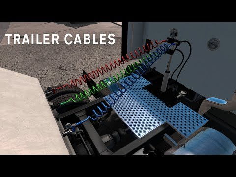 Simulated Trailer Cables
