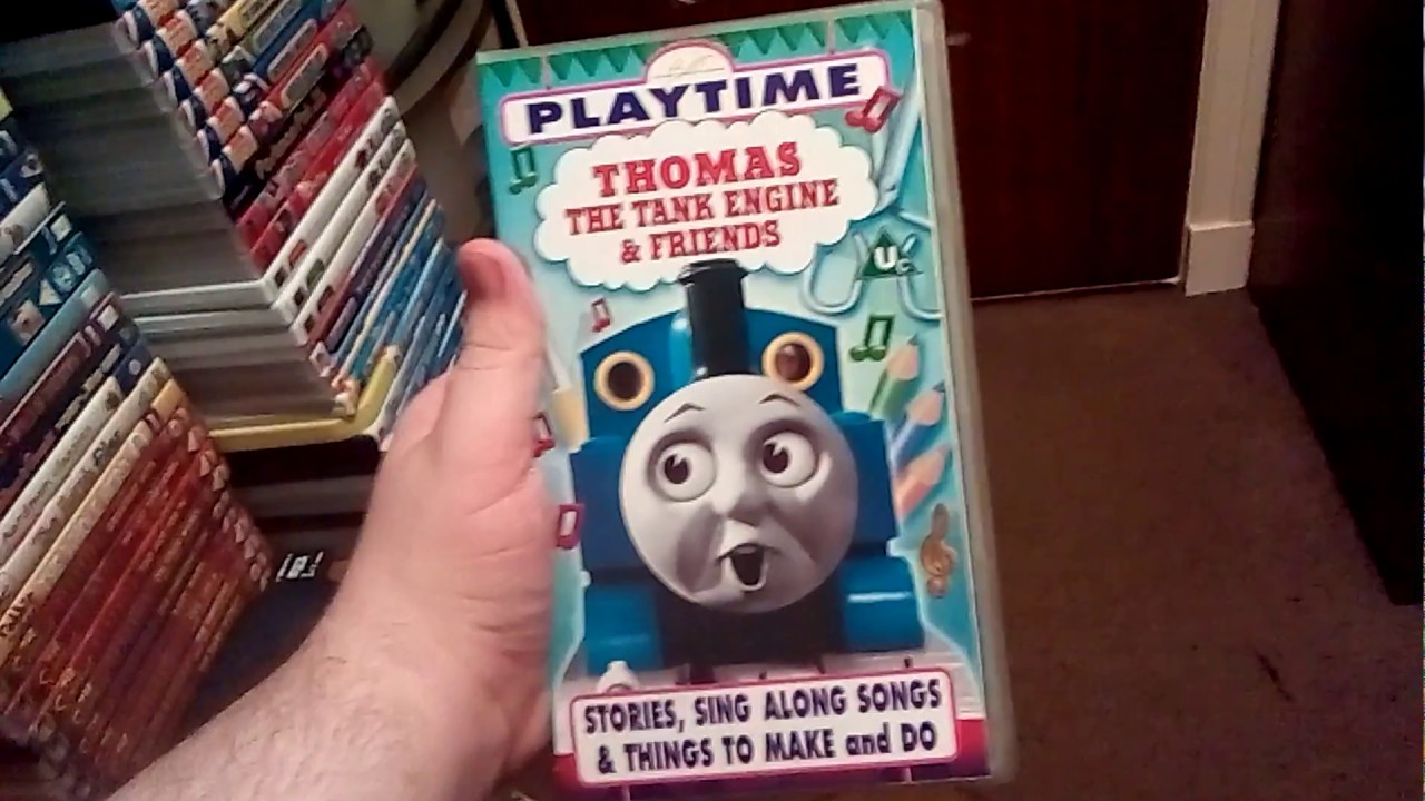 Thomas The Tank Engine Friends Playtime Vhs Tape Review