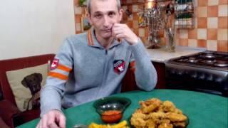 Крылышки KFC с Картошкой. ФАСТФУД