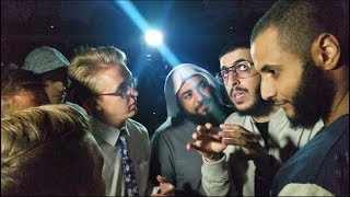 MOHAMMED HIJAB SCHOOLS MORMONS   ALI DAWAH   SHEIKH MUHAMAD   SPEAKERS CORNER thumbnail