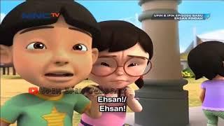 Upin&Ipin Ehsan pindah semua sedih