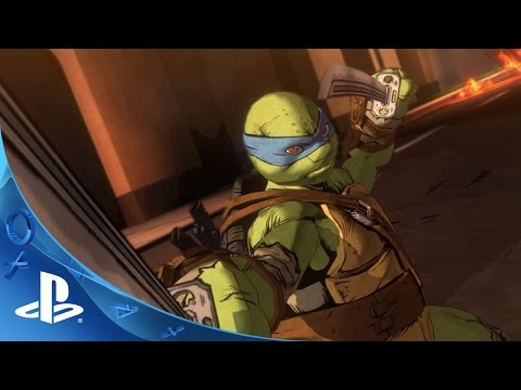 Teenage Mutant Ninja Turtles: Mutants in Manhattan Announce Trailer   PS4, PS3