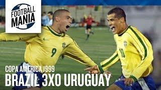 Copa América 1999 Final - Brasil 3x0 Uruguay - Brasil Campeão!