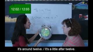 Lesson 58 - Telling Time - Learn English with Jennifer