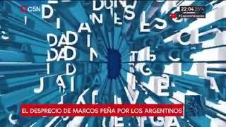 Video: Marcos Peña culpa a la Argentina por el fracaso económico de su gobierno