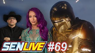 Sasha Banks cast in Mandalorian Season 2! - SEN LIVE #69