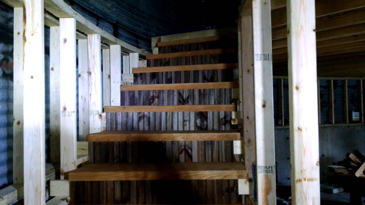 Grain Bin Home Silo Grain Bin Home Stairs P 6a Youtube