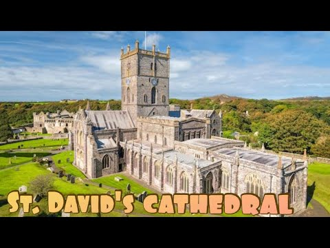 #VanLife, #StDavidsCathedral, S/Wales.(Before Lockdown), (history In Description)