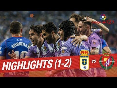 Resumen de Real Oviedo vs Real Valladolid (1-2)