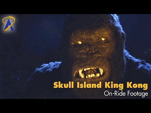 Skull Island: Reign of Kong on-ride footage at Universal Orlando