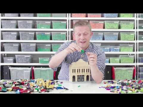 The LEGO Batman Movie : Sean Kenney builds! (Episode 3, Gotham City Bank)