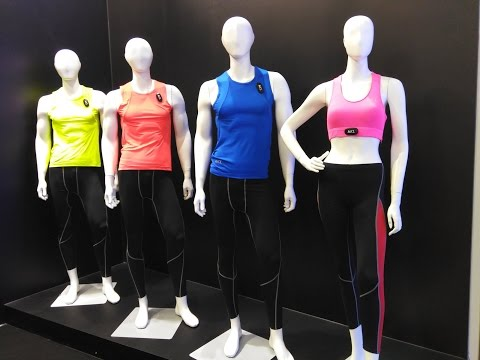 AIQ Smart clothes with heart rate, ECG, 7 days battery life