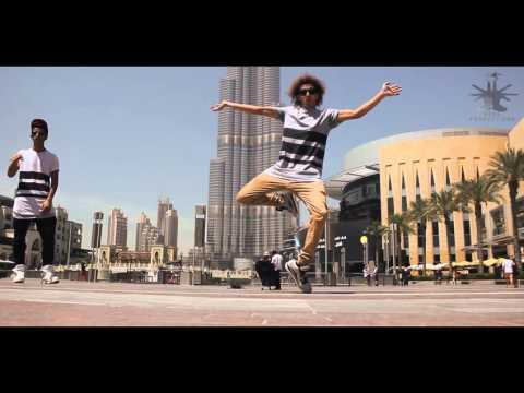 DANCING TO BEATBOX { BURJ KHALIFA }