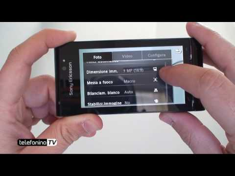 Sony Ericsson Satio videoreview da Telefonino.net