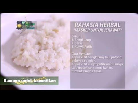 Herbal untuk mengobati jerawat dan perawatan kulit wajah.