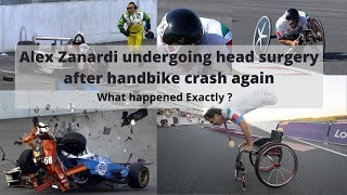 #paralympic champion #alexzanardi was seriously #injured again in a handbike crash on friday - nearly 20 years after losing both of his legs horrific au...