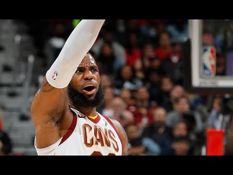 LeBron James Dishes a CAREER-HIGH 19 Assists | February 9, 2018