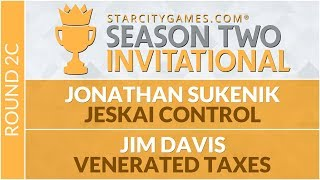 SCGINVI Round 2c Jonathan Sukenik vs Jim Davis Modern
