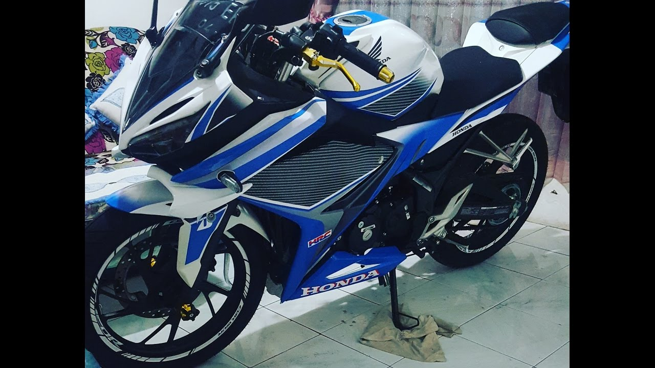 Review cbr 150 k45g decal