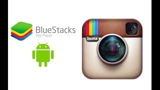 Как загрузить фотографии в инстаграм через програму BlueStacks (Работает 100%)