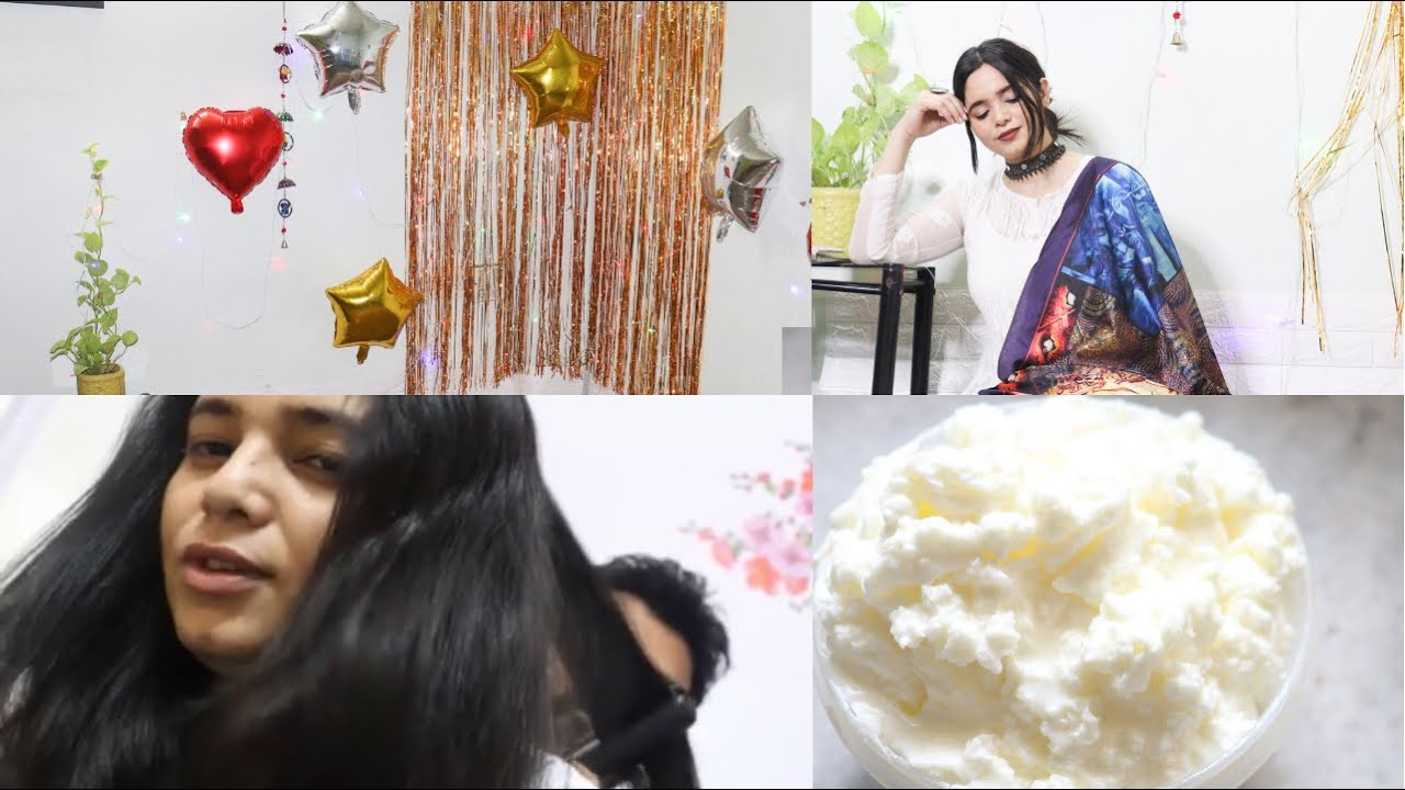 A BUSY DAY IN MY LIFE | SETTING UP SPACE FOR SHOOTING |  MAKING MAKKHAN AT HOME  | PRIYNKAVLOG