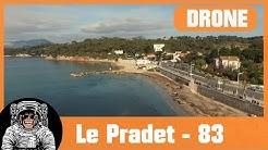 Le Pradet - Plage de la Garonne - DRONE