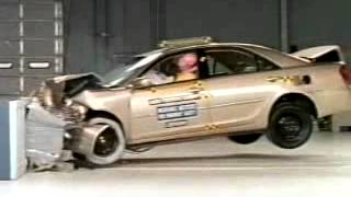 Vehicule  Crash Test of 2002-2005 Toyota Camry _ Daihatsu Altis-Extreme