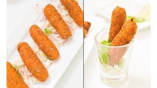 Veg Bullets Recipe - Quick & Easy Snack Recipes | Snack On!