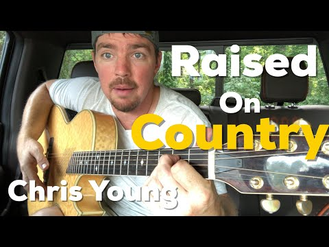 Raised On Country | Chris Young | Beginner Guitar Lesson