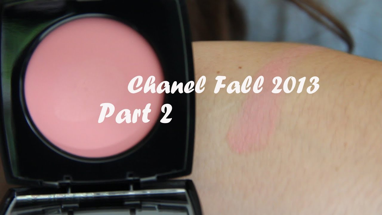 Chanel Fall 2013- PART 2- Cream Blush in Inspiration - YouTube