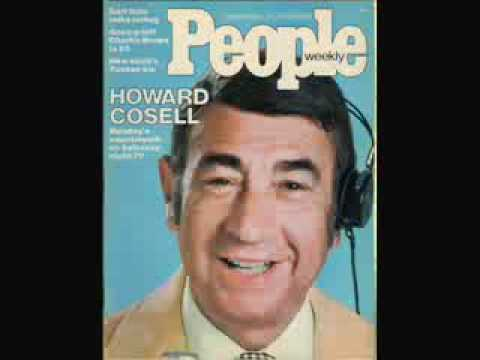 Nominate Howard Cosell to Pro Football Hall of Fame