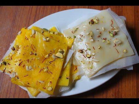 Bombay Ice Halwa Recipe - Ice Halwa Recipe