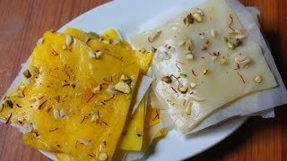 Bombay Ice Halwa Recipe - Ice Halwa Recipe