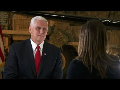 CBS News' Margaret Brennan's exclusive interview with Mike Pence