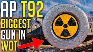 240mm AP Ammo • Dirtiest Cannon in WoT ► World of Tanks T92 HMC Gameplay