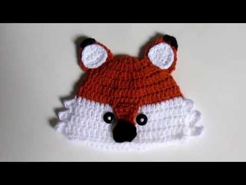Touca Raposa Pequeno Principe- Pimentinha Crochê - YouTube 87831e722c4