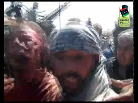 Raw Video Footage Of Gaddafi's Capture