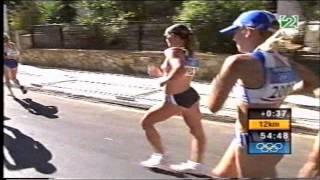 Juegos Olímpicos Atenas 2004, 20km marcha femenino